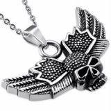 colgante gótico 50 - cráneo con alas