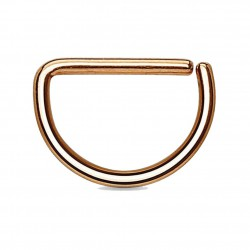 Piercing septum ou helix 74 - Gold-ip rosa