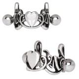 Piercing helix 170 - corazón motivos celta