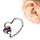 Piercing micro-bcr 181 - corazón con abulón