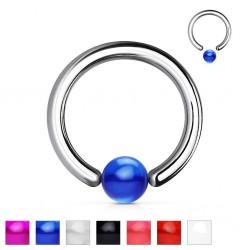 Piercing anillo 1,6mm 08 - UV unicolor