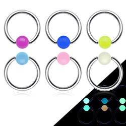 Piercing anillo 1,6mm 05 - fluorescente