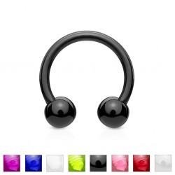 Piercing micro-circular 19 - UV flexible Bolas