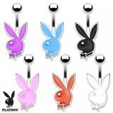 Piercing ombligo Playboy 14 - conejo colorido