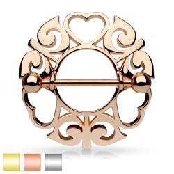 Piercing teton tres corazóns (20)