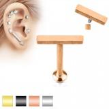 Piercing micro-labret 98 - línea platoe B