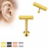Piercing micro-labret 97 - línea platoe A