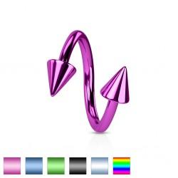 Piercing micro-espirale 08 - PVD Picos