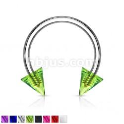 Piercing micro-circular 18 - UV unicolor Picos