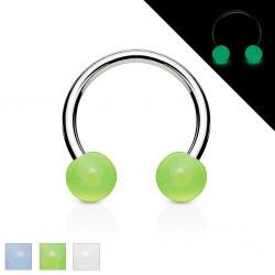 Piercing micro-circular 15 - UV fluorescente Bolas