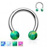 Piercing micro-circular 112 - Opale