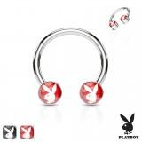 Piercing micro-circular 53 - Logo Playboy