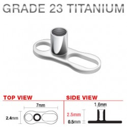 Base microdermal titanio C