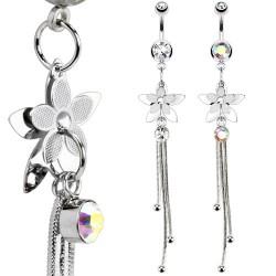 Piercing ombligo Flor 36 - cadenattes