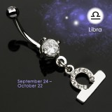 Piercing ombligo zodíaco 08 - Balance