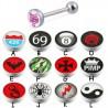Piercing lengua logos serie A