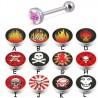 Piercing lengua logos serie C