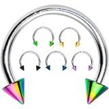 Piercing circular 20 - PVD y acero Picos