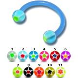 Piercing micro-circular 105 - Flexible estrella