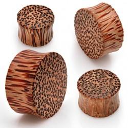 Plug curvo en madera de palma