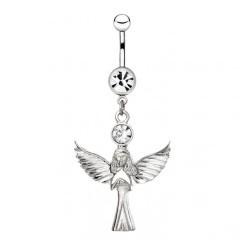Piercing ombligo angel 13 - Definal alas déployées