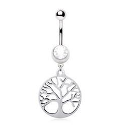 Piercing ombligo árbol de vida (D84)