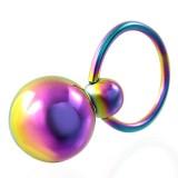 Piercing micro-bcr 84 - dos Bolas rainbow