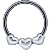 Piercing micro-bcr 99 - tres corazóns
