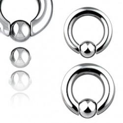 Piercing anillo en acero 2mm
