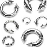 Piercing circular en acero Picos 02 à 06mm