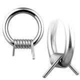 Piercing anillo en acero alambre de púas 2 à 3mm