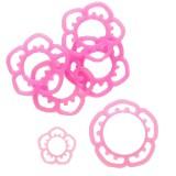 O-ring flower rosa