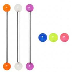 Piercing industrial 11 - Bolas fluo