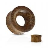 Túnel curva snake wood