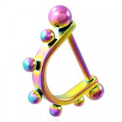 Pezón escudo 02 - Rainbow Bolas