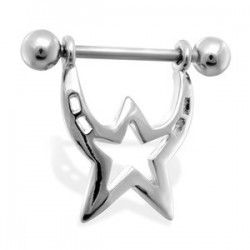 Piercing teton estrella 13 - Majestueuse