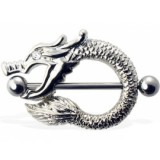 Piercing teton dragon ojo strass (34)