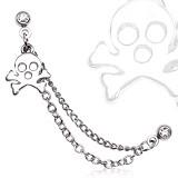 cadena de oreja 25 - cráneo