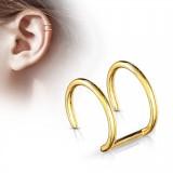 Falso-piercing oreja 05 - Doble anillo PO