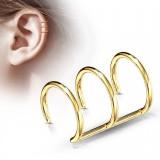 Falso-piercing oreja 06 - Triple anillo PO