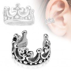 Falso-piercing oreja 53 - Anillo corona