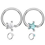 Piercing micro-bcr 143 - Cristal estrella