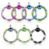 Piercing micro-bcr 12 - PVD bicolor