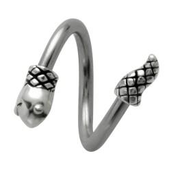 Piercing micro-espirale 26 - serpiente