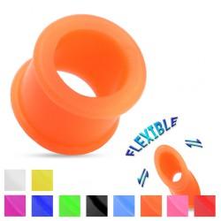 Túnel flexible en silicona unicolor