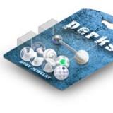 Pack de piercings lenguas 05 - Bolas UV transparentees