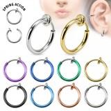Piercing helix 154 - anillo PVD