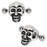 Piercing helix 158 - cráneo gris