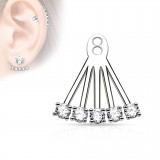 Jacket oreille 06 - cinco rondas transparentes