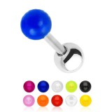 cartílago helix, tragus 86 - UV unicolor Bola